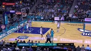 خلاصه بسکتبال NBA مینستوتا vs شارلوت هورنتس