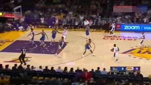 خلاصه بسکتبال NBA  گلدن استیت واریرز vs  لسآنجلس لیکرز