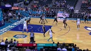 خلاصه بسکتبال NBA میامی هیت   vs  چارلوت