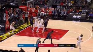خلاصه بسکتبال NBA آتلانتا vs  اورلاندو مجیک