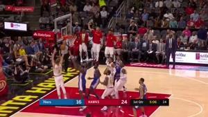 خلاصه بسکتبال NBA فیلادلفیا سیکسرز vs آتلانتا هاوکینگ