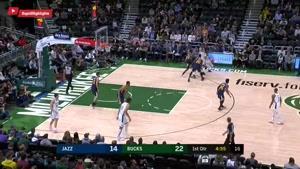 خلاصه بسکتبال NBA یوتا  vs میلواکی باکس
