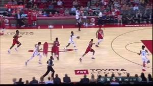 خلاصه بسکتبال NBA هوستون راکتز vs اوکلاهاما سیتی