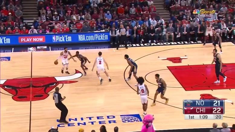 خلاصه بسکتبال NBA نیو اورلانز  vs شیکاگو بولز