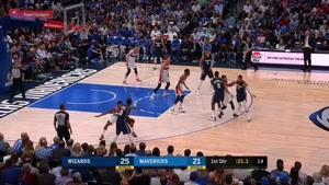 خلاصه بسکتبال NBA واشنگتن ویزارد vs دالاس موریکس