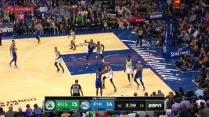 خلاصه بسکتبال NBA بوستون سلتیک vs فیلادلفیا سیکسرز