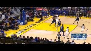 خلاصه بسکتبال NBAگلدن استیت vs مینیستوتا