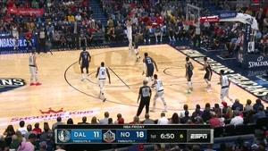 خلاصه بسکتبال NBA دالاس موریکس vs نیواورلانز پلیکان