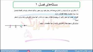 جلسه 38 فیزیک یازدهم-میدان الکتریکی 8 حل 9 سوال آخر فصل- محمد پوررضا