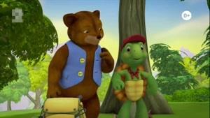 انیمیشن آموزش زبان انگلیسی Franklin and Friends قسمت چهار