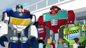 انیمیشن سریالی ترانسفورماتور نجات ربات ها فصل 4 قسمت نه