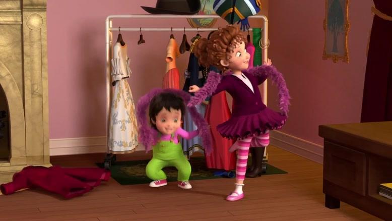 انیمیشن فنسی نانسی فصل یک قسمت  ۹ و ۱۰