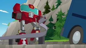 انیمیشن سریالی ترانسفورماتور نجات ربات ها فصل 4 قسمت یازده