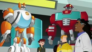 انیمیشن سریالی ترانسفورماتور نجات ربات ها فصل 4 قسمت بیست و پنج