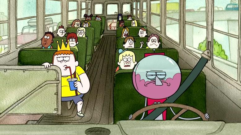 انیمیشن نمایش منظم فصل ۱ قسمت سه