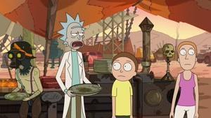 انیمیشن ریک و مورتی فصل 3 قسمت دو