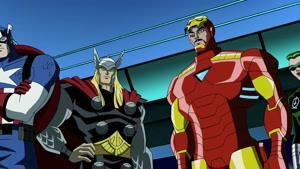 انیمیشن انتقام جویان: قدرتمندترین قهرمانان زمین فصل 2 قسمت بیست و سه