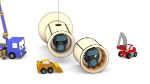 انیمیشن آموزشی کامیون های کوچک قسمت سی