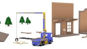 انیمیشن آموزشی کامیون های کوچک قسمت بیست و چهار