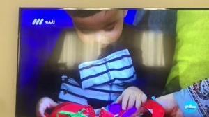 حضور رویان مهر در برنامه تلویزیونی
