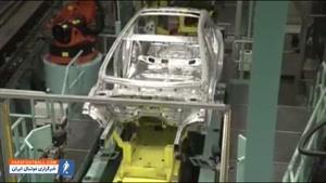 مراحل ساخت خودرو  بنز