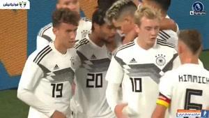 خلاصه بازی دوستانه آلمان - آرژانتین
