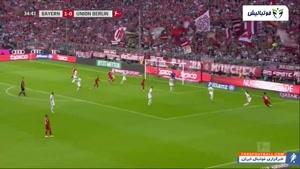 خلاصه بازی بایرن مونیخ 2-1 یونین برلین