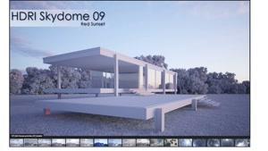 Downloa HDRI Skydomes I VIZPARK ( panoramic 360° images EXR-format)