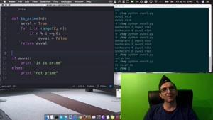 آموزش برنامه نویسی پایتون - اعداد اول: تابع  درس ۹