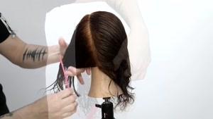 آموزش کوتاه کردن موهای فرفری