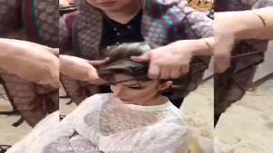 آموزش شینیون عروس |  در آموزشگاه و سالن زیبایی آوای زیباسازان