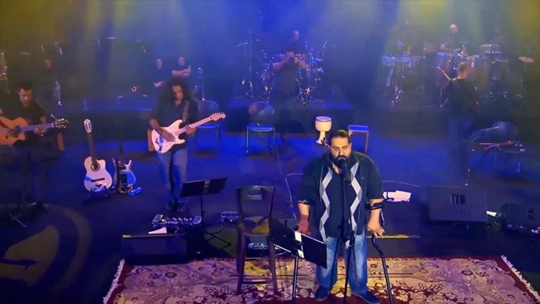 اجرای زنده ی آهنگ بانوی من از رضا صادقی