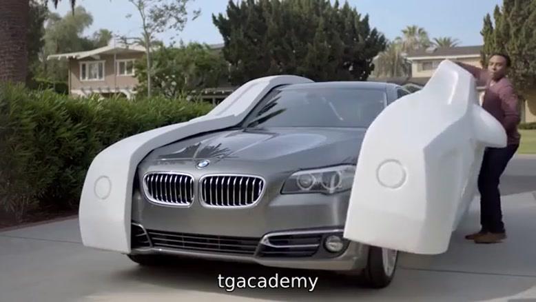 تبلیغ خفن کمپانی  بی ام دبلیو BMW