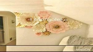 انواع گل کاغذی ، گل مقوایی کاغذی  ، گل کاغذی تولد