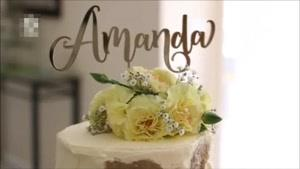 آموزش تزیین کیک خامه ای با گل و پروانه