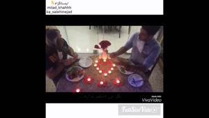 کلیپ خنده دار از میلاد خواه -وقتی ایرانیا میرن رستوران