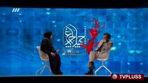 لحظه ترکیدن بغض ستاره زن سینمای ایران روی آنتن