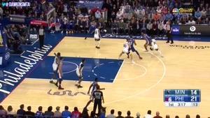 خلاصه بسکتبال NBA فیلادلفیا vs مینستوتا