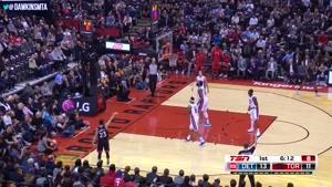 خلاصه بسکتبال NBA تورنتو رپترز vs دیترویت پیستونز