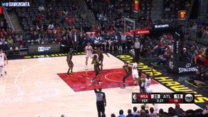 خلاصه بسکتبال NBA میامی هیتس vs آتلانتا هاوکینگ