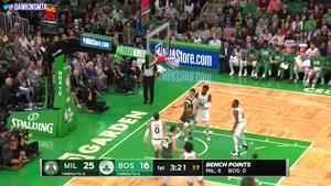 خلاصه بسکتبال NBA میلواکی vs بوستون سلتیک