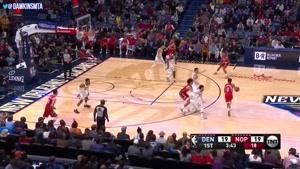 خلاصه بسکتبال NBA نیواورلانز vs دنورناگتس