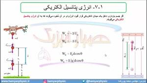 جلسه 51 فیزیک یازدهم - انرژی پتانسیل الکتریکی 1 - مدرس محمد پوررضا