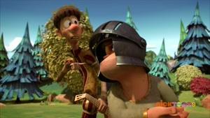 انیمیشن حمله خرگوشها زبان اصلی  فصل 3 قسمت بیست و شش