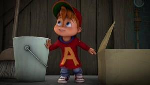 انیمیشن آلوین و سنجاب ها فصل 1 قسمت هفده