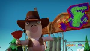 انیمیشن حمله خرگوشها زبان اصلی  فصل 3 قسمت بیست و سه