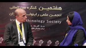 دکتر علی اصغر شیرازی در هفتمین کنگره بین المللی انجمن علمی راینولوژی ایران سال 1398