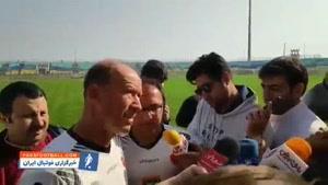 سرمربی پرسپولیس: باشگاه حتی پول شن هم ندارد؛ جونیور عضوی از تیم است