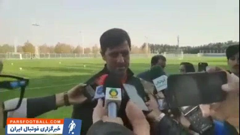 کریم باقری: در فوتبال ما بازیکنان خیلی زود عصبانی میشوند