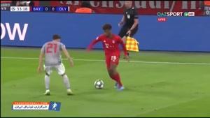 خلاصه بازی بایرن مونیخ 2- 0 المپیاکوس